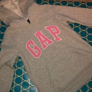 Grey classic gap hoodie